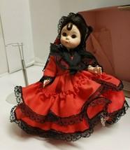 Madame Alexander Vintage Doll Spain #595 Original Box ~ with Stand - $29.70