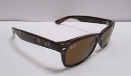 Ray-Ban Sunglasses 2132 710 Wayfarer Brown Light Havana BRAND NEW 100% O... - $86.99