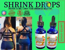 Shrink Drops Weight Loss Drops 2-oz bottle - $39.55