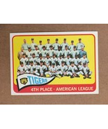 1965 Topps #173 Detroit Tigers Team Baseball Card NM Condition - $9.99