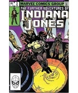 The Further Adventures of Indiana Jones Comic Book #2 Marvel 1983 FINE NEW - $2.25