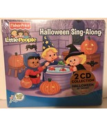 Fisher Price Little People HALLOWEEN Sing Along 2 CD set - Spooky Sounds... - $9.94