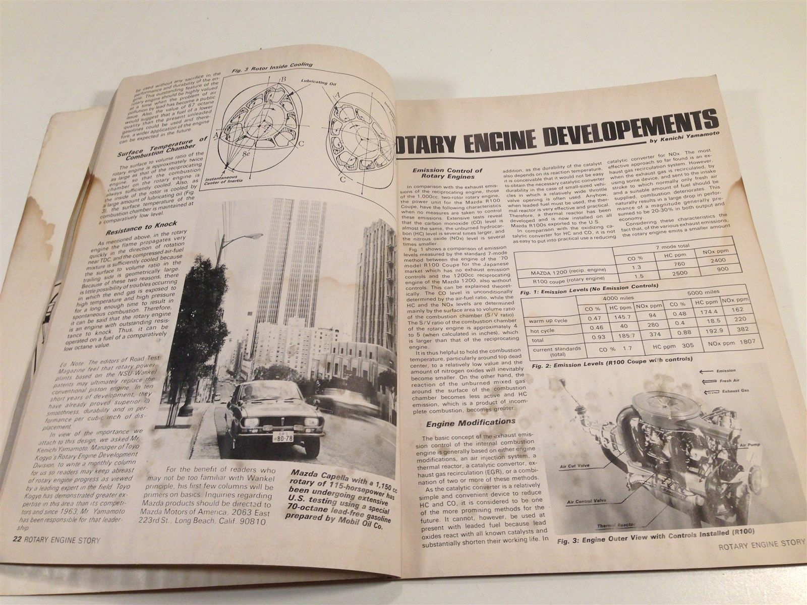 The Rotary Engine - Engine Of The Future - 1971 Wankel Story