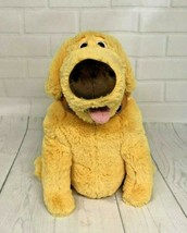 """Disney Dug Plush Dog from the Movie UP 10"""" ---missing cone of shame - $14.95"""