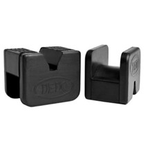 DEDC 2 Pack Jack Pad Universal Slotted Frame Rubber Frame Rail Protector... - $19.79