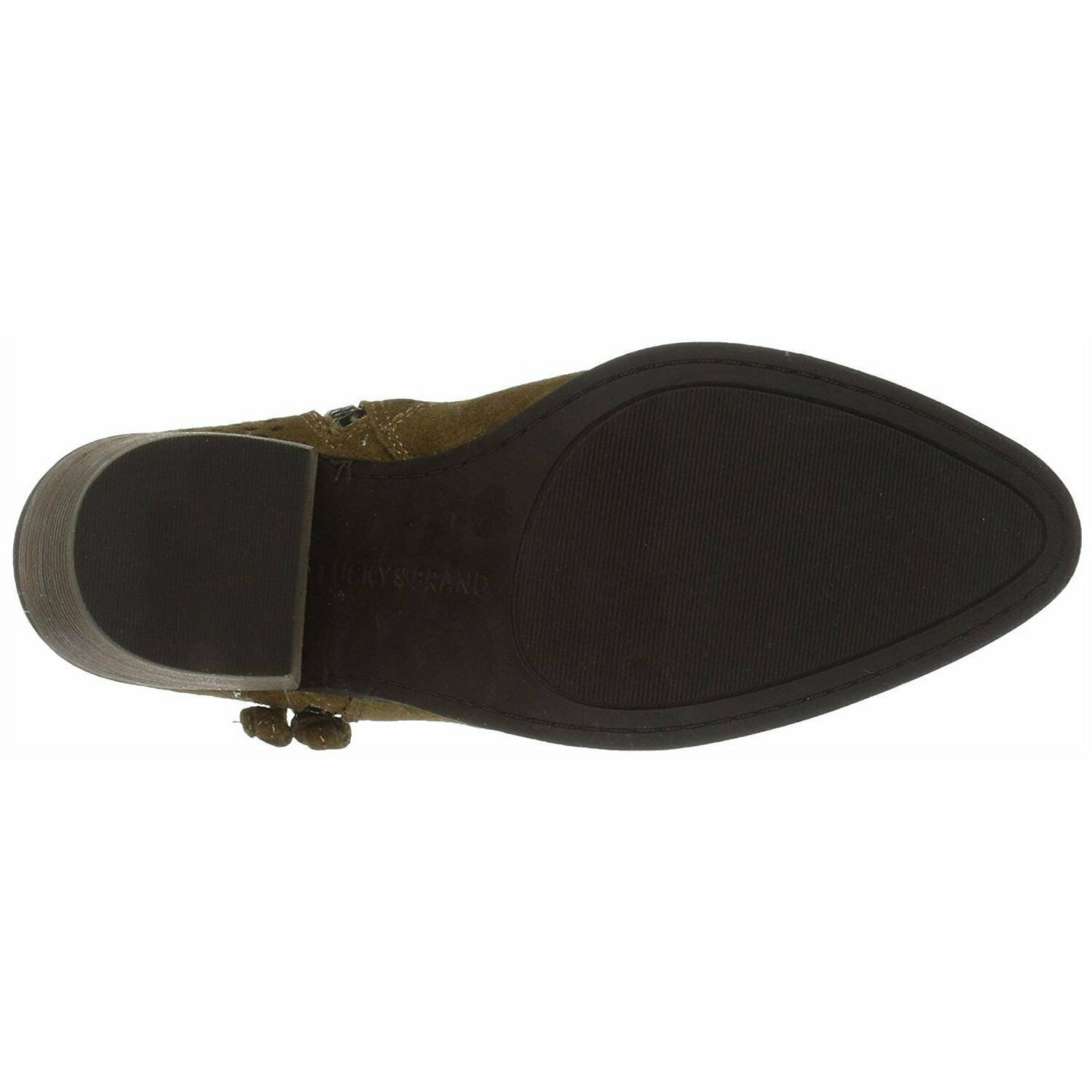 Lucky Brand Lk-Ramses Tapenade Oiled Suede, Size 9.5 M image 4
