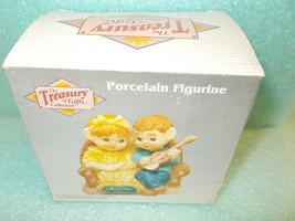 Artmark Porcelain Figurine - Girl & Boy With Guitar #53638A UPC:05026253... - $14.85
