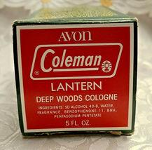 Vintage Avon Coleman Lantern Wild Country Men's Cologne - In Original Box image 5