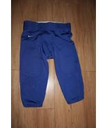 Nike Team Football Pants New BLUE Size XL - $24.74
