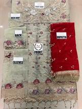STITCHED DRESS PAKISTANI INDIAN SALWAR KAMEEZ ANARKALI MARIA B. SANA ABBAS, ZARA image 2