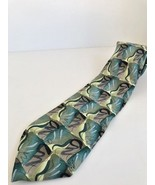 Men's ties J. Garcia Blue Mountain Ltd. Ed Coll.42 dark colors/jagged pe... - $11.29