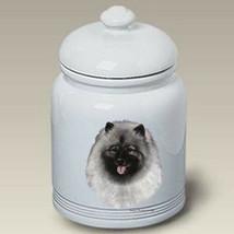 Keeshond Treat Jar - $44.95