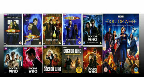 Primary image for Doctor Who The Complete Series Seasons 1-11 (DVD, 58 Disc Box Set) Brand New