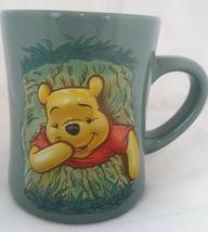 Disney Coffee Mug cup Winnie the Pooh ceramic embossed 3 D fun gift idea - £11.46 GBP