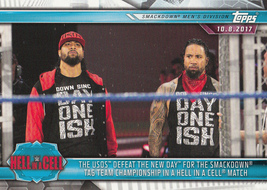The Usos 2019 Topps WWE Road To Wrestlemania Card #59 - $0.99