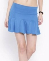 Forever 21 Tennis Skater Flare Mini Skirt Blue S NEW With Tags - $11.87