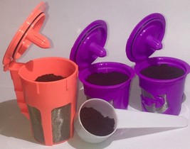 Keurig 2.0 Refillable Reusable K-Cups K-Carafe Filter Pod with Coffee Scoop - $10.99