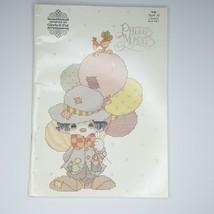 Precious Moments Cross Stitch Book Of Clowns By Gloria & Pat PM 7 - $8.90