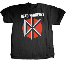 Dead Kennedys-Stressed Logo-Large Black t-shirt - $17.41