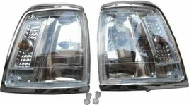 FIT FOR TOYOTA Pickup Hilux 2WD 88-97 Imperfect Crystal Chrome Corner Light - $39.60