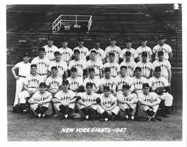 1947 New York Giants 8X10 Team Photo Baseball Mlb Picture Ny - $3.95