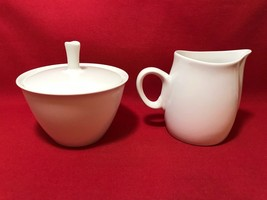 Vintage FRANCISCAN CLOUD NINE WHITESTONE WARE Sugar and Creamer - Japan ... - $23.74