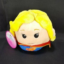 Hallmark Fluffballs Plush Ornament DC Comics Supergirl New Tags Justice ... - $10.88
