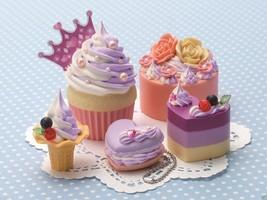 "Japanese DIY Whipple ""Blueberry & Milk Sweets"" Fake Sweets Key Chain Mak... - $37.90"