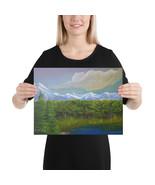 "Canvas Print ""Rustic Woods"" - $56.95+"