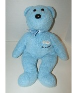 """2002 Ty Beanie Buddies 13"""" Blue Bear plush Baby toy It's a Boy teddy fla... - $5.93"""