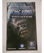 Nintendo GameCube - PETER JACKSON'S - KING KONG (Replacement Manual) - $8.00