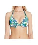 Unique Vintage Women's Monroe Triangle Bikini Top, Tropical Parrot Print... - $11.25