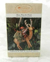 Hallmark Christmas Ornament Home From the Woods 1995 Club Edition Reindeer - $14.84