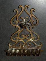 Judaica Hanukkah Oil Menorah Hanukkiah Bronze Oriental Decorations