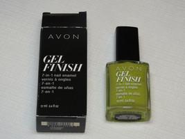 Avon Gel Finish 7-in-1 Nail Enamel Ctrnz 12 ml 0.4 fl oz nail polish man... - $12.51