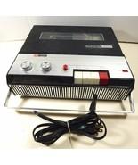 VTG ROSS Record-O-matic Mark 1702 7-Transistor reel Tape Recorder Japan - $44.55