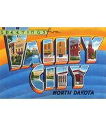 Greetings From Valley City, North Dakota - 1930's - Vintage Postcard Poster - $9.99+