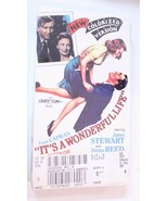 It's A Wonderful Life VHS Tape Jimmy Stewart Donna Reed Sealed New Old S... - $7.91