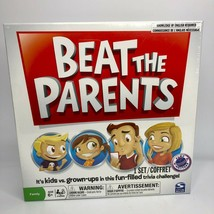 Beat The Parents Board Game - Spin Master - New & Sealed - $14.01