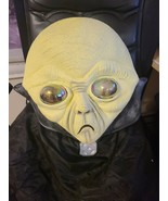 HALLOWEEN ADULT Alien Full Head Oversized Mask Monster Facial Sculpt Latex - £34.84 GBP