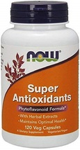 NOW Supplements, Super Antioxidants with Herbal Extracts and a Broad Spectrum - $73.43