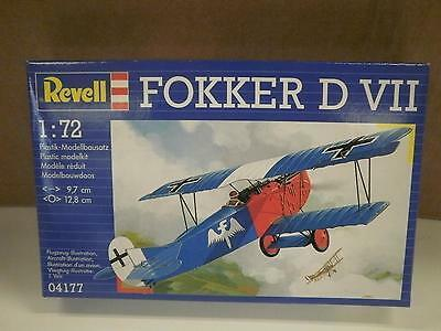NEW MODEL- REVELL- 04177 FOKKER D VII- LEVEL 2- NEW- W50