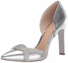 Jewel Badgley Mischka Women's Sedona Pump, Silver, 8 M US - $127.91