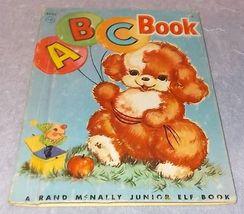 Child's Rand McNally Junior Elf Book ABC Book No 8038 1955 .15 cent - $6.00