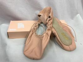 Bloch Dansoft S0205l Erwachsene Kompletter Sohle Rosa Ballett Schuhe mit... - $14.93