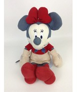 """Minnie Mouse Blue Jean Cowgirl Western Disney Store Large 17"""" Plush Stuf... - $19.75"""