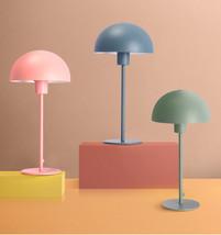 Modern Color Mushroom Table Desk Lamp Nordic Reading Light E27 Macarons ... - $69.95