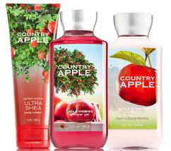 Bath & Body Works Country Apple Trinity Gift Set - $40.95