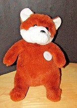 Plush Manhattan Toys Woodlanders Jake the Red white Fox NWT 2016  - $12.02