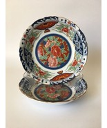 Gump's Japanese Kiku Imari Floral Scallop Edge Round Porcelain Soup Bowl... - $46.28